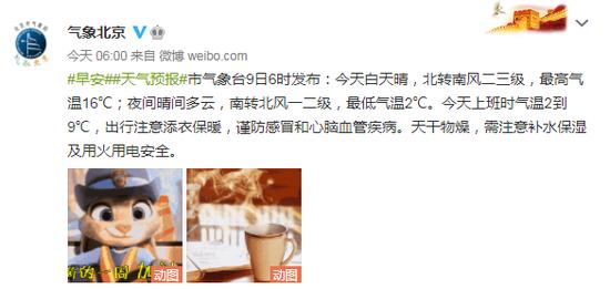 北京本日白昼晴 最高气温16℃(图3)