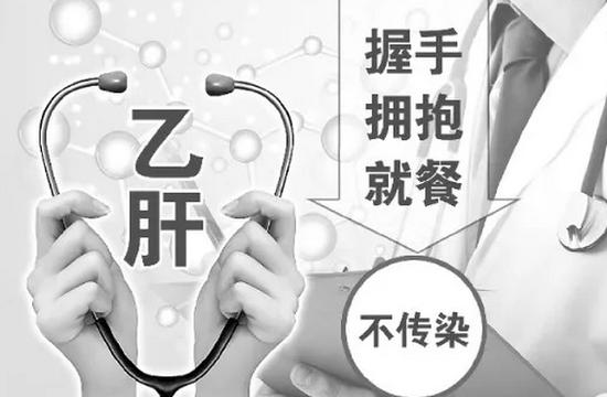 中国乙肝病毒携带者约9000万 宝马会国际娱乐握手拥抱就餐不传染