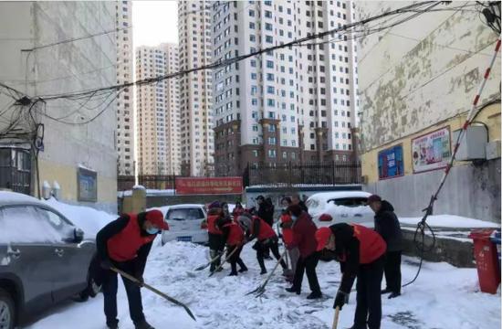 哈尔滨发布小区清雪标准,你家达标了吗?图片