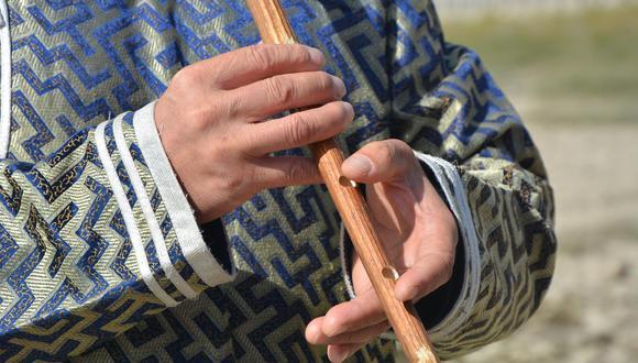 千年的蒙古器乐 木管震荡出空灵音
