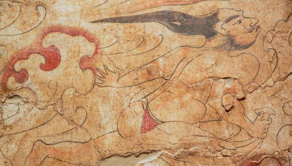 北朝墓葬壁画上的现实与异想世界