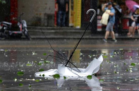 """商务部启动市场应急响应机制 防御台风""""山竹"""""""