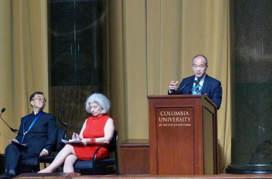 2017年9月,窦贤康出席中美大学校长和智库论坛