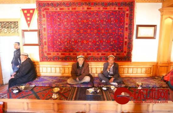 ▲新疆人民的日常生活 輕鬆而自在