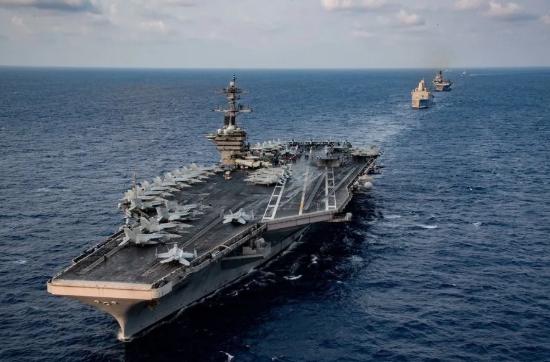 那艘危险的美国航母,25名水兵阳性!