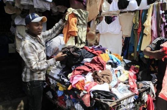 卢旺达上调二手服装