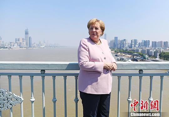 资料图:德国总理默克尔。中新社记者 张璨龙 摄