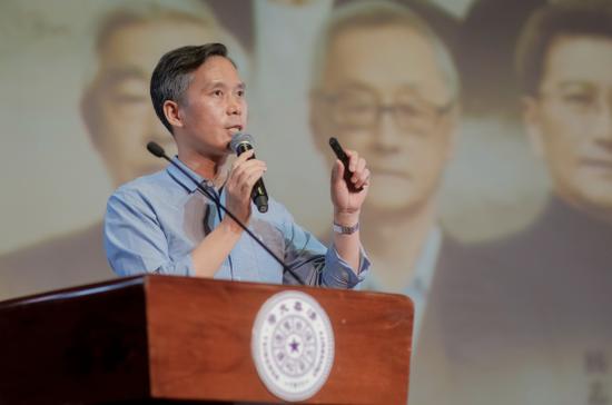 图:上海博物馆副馆长李仲谋做个人分享