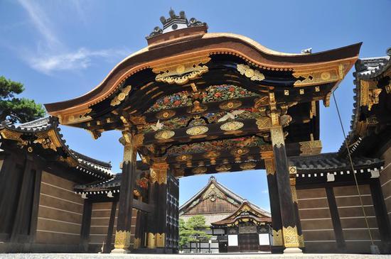 日本京都二条城。(图片来自台媒)