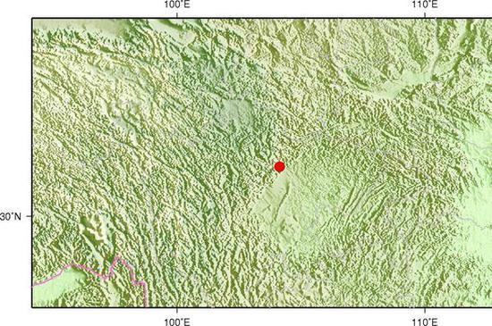 四川茂县发生3.2级地震 震源深度14千米
