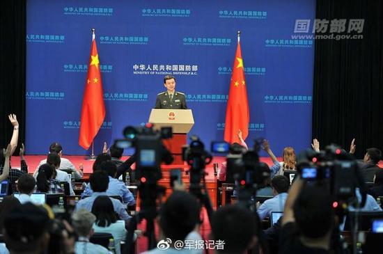 """国防部回应澳媒""""中国威胁论"""":叫不醒装睡的人国寿鸿寿年金"""