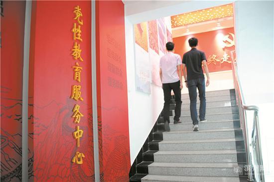 投资70多万元的青阳镇党性教育服务中心今年4月正式投入使用。