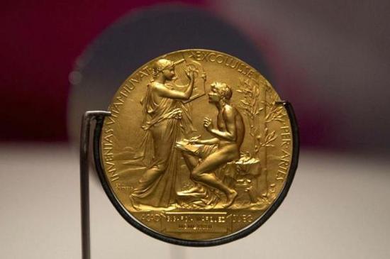 诺贝尔文学奖奖章