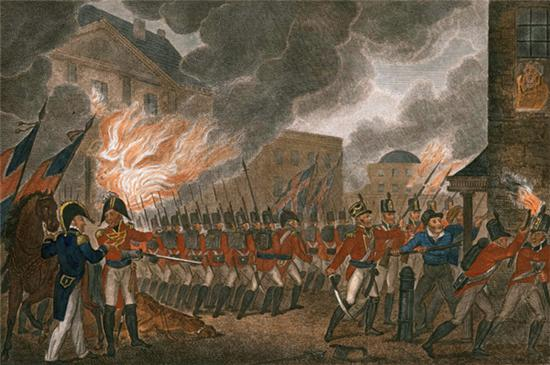 英军攻入华盛顿