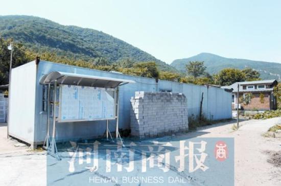 少林寺禅耕农场里搭建的几间简易房