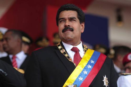 图为委内瑞拉总统马杜罗