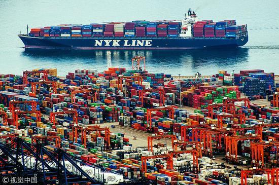 深圳港(视觉中国 图)