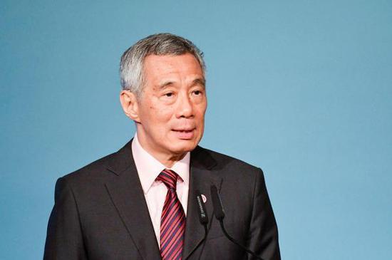 新加坡總理李顯龍  視覺中國 資料圖