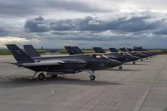 ▲圖爲F-35C戰鬥機