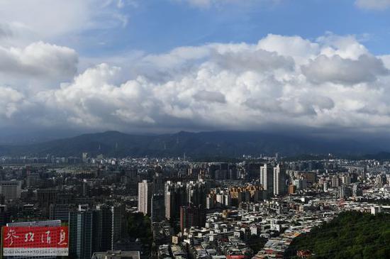 资料图片:台北风光。(图片来源:彩色通稿)