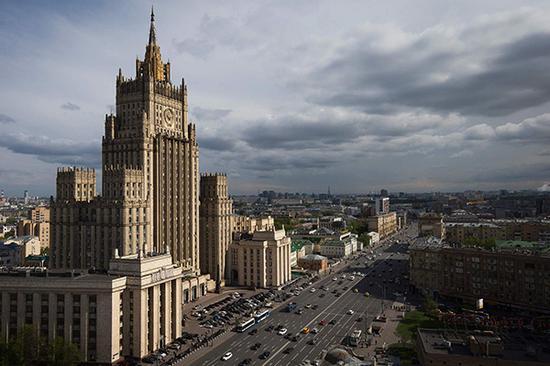 俄罗斯外交部。视觉中国 资料