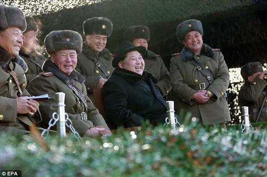 ▲特朗普近年来反复对韩作出撤军威胁,朝鲜甚至公开赞同这一言论。(欧洲新闻图片社)