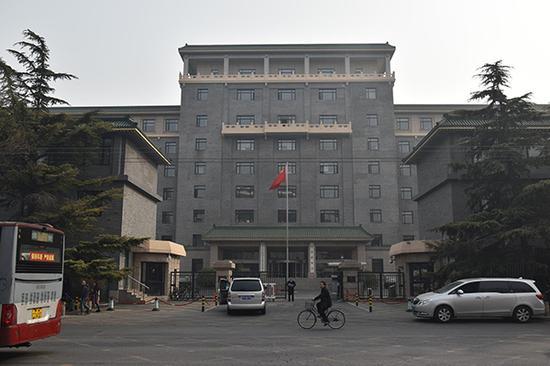 2018年3月13日,北京,国家发展改革委员会。视觉中国 图