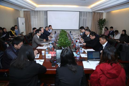 中国理论海外传播研讨会现场 (谢明 摄)