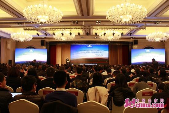 3月20日,中国商飞公司在山东东营召开2018年COMAC供应商大会。 中国山东网 图