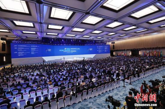 资料图:2017年12月3日,第四届世界互联网大会在浙江乌镇开幕。 中新社记者 杜洋 摄