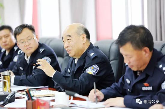 王正升在座谈中发言。