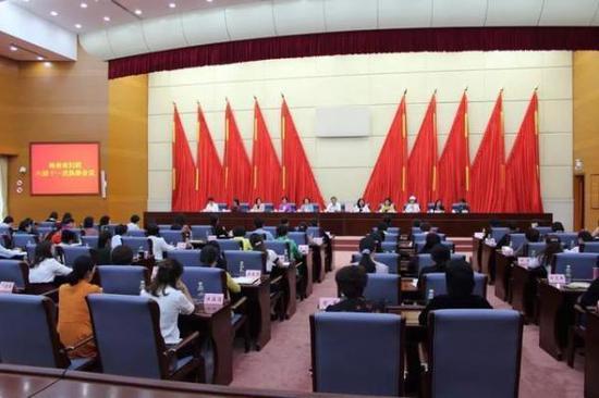3月30日下午,海南省妇联六届十一次执委会议在海口召开,省委副书记李军出席会议并讲话。