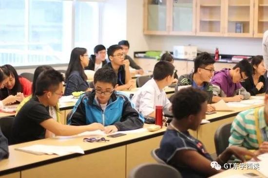 美国戈登学院夏校里的中国学生