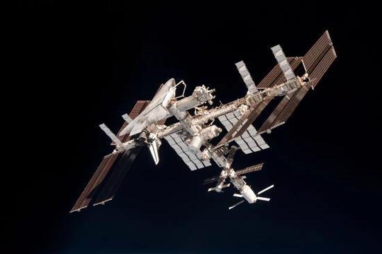 ▲国际空间站(维基百科)