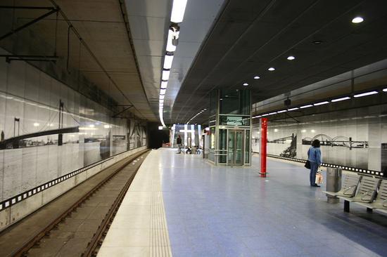 资料图:梅迪奇地区一地铁站(图源:维基百科)
