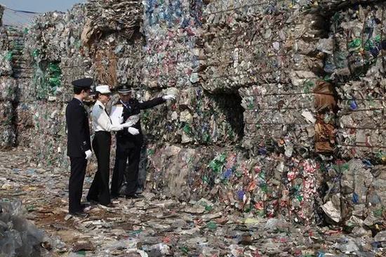 """湖州海关查获一批""""洋垃圾"""" 总计469吨洋垃圾废物湖州"""