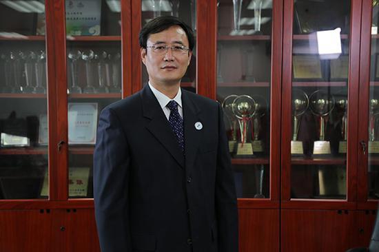 北京航空航天大学网络安全学院院长刘建伟接受澎湃新闻专访 受访者 供图