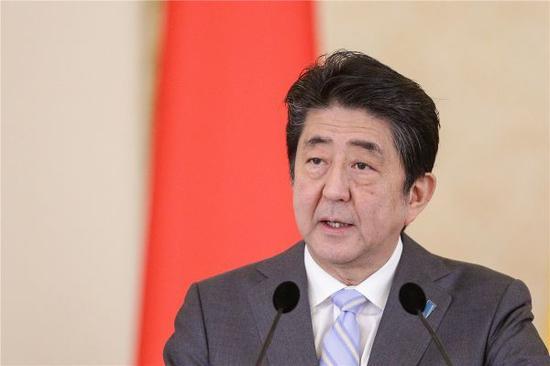 资料图片:图为日本首相安倍晋三。图片来自新华社 路透社