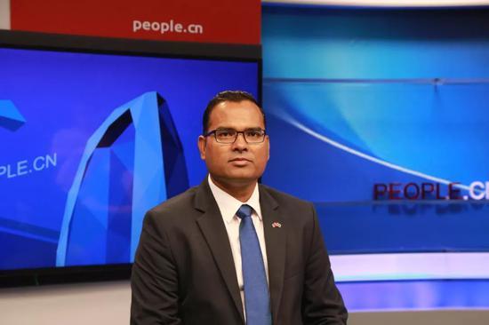 马尔代夫驻华大使穆罕默德•费萨尔