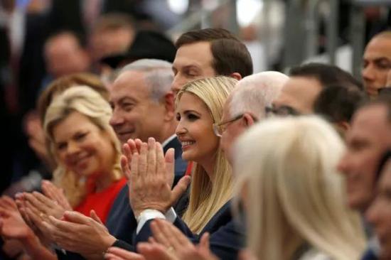 伊萬卡夫婦參加美國在耶路撒冷新大使館揭幕儀式