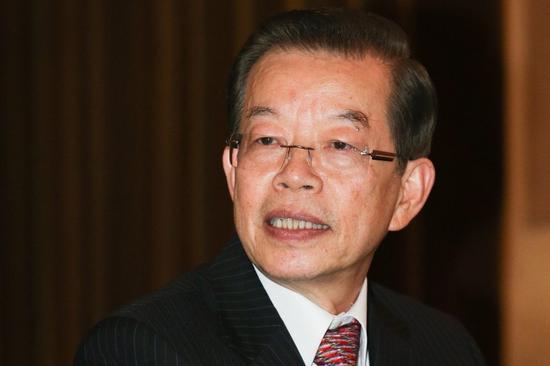 """图为台""""驻日代表""""谢长廷。(来源:台湾联合新闻网)"""