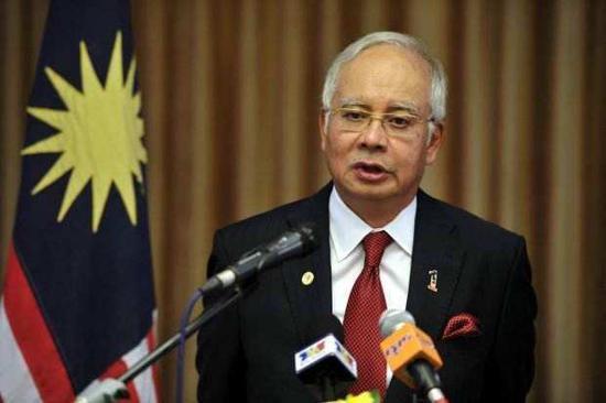 资料图:马来西亚前总理 纳吉布