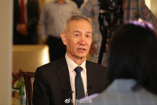 刘鹤谈中美经贸对话:我们为中国人民的利益而来