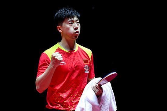 马龙4比1樊振东拿下男单冠军。