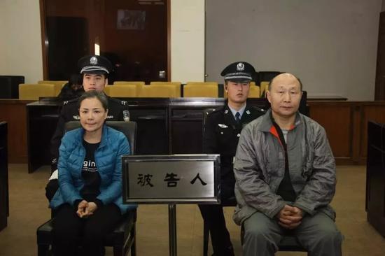 孙英辉与李传红受审