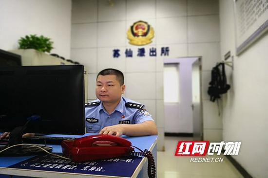 郴州民警李超 本文图均为 红网 图