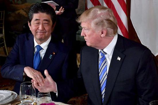 """""""我们谈好了,日本你来付"""",""""ok"""" 图自CNBC"""