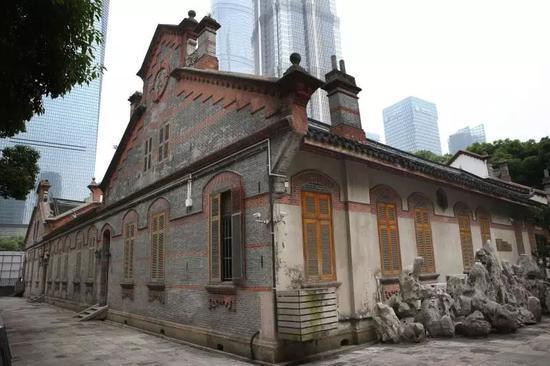 2018年6月2日,修缮后的陈桂春老宅,现在为吴昌硕纪念馆。新京报记者 尹亚飞 摄