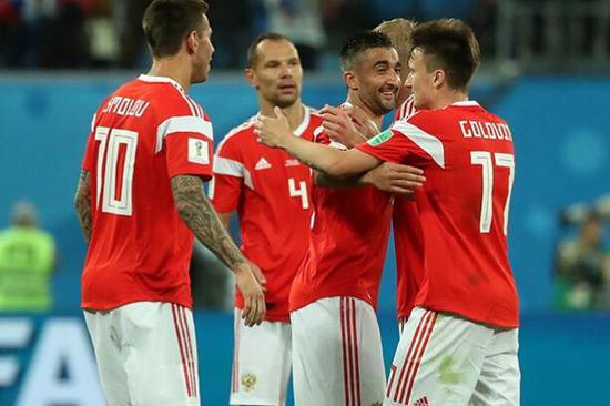 俄罗斯队在世界杯表现出色