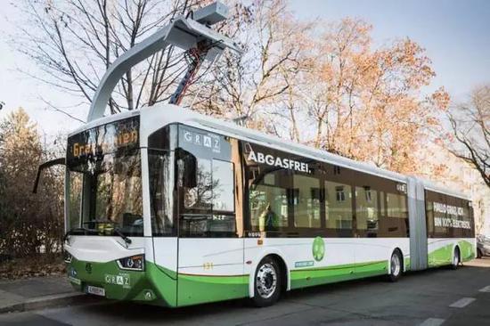 奥地利格拉兹储能式现代无轨电车